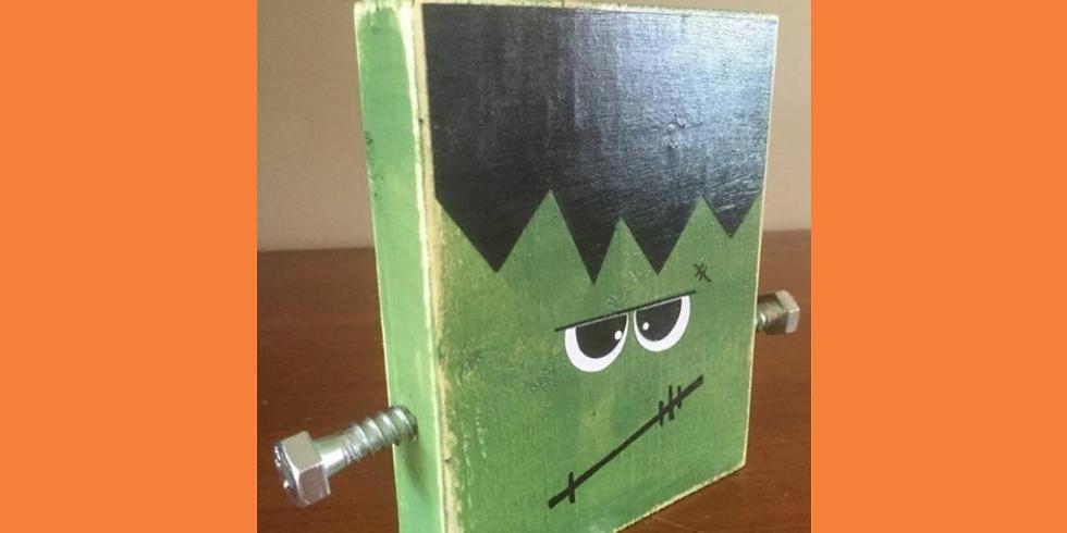 Frankenstein Craft Saturday October 10th @ 6 PM