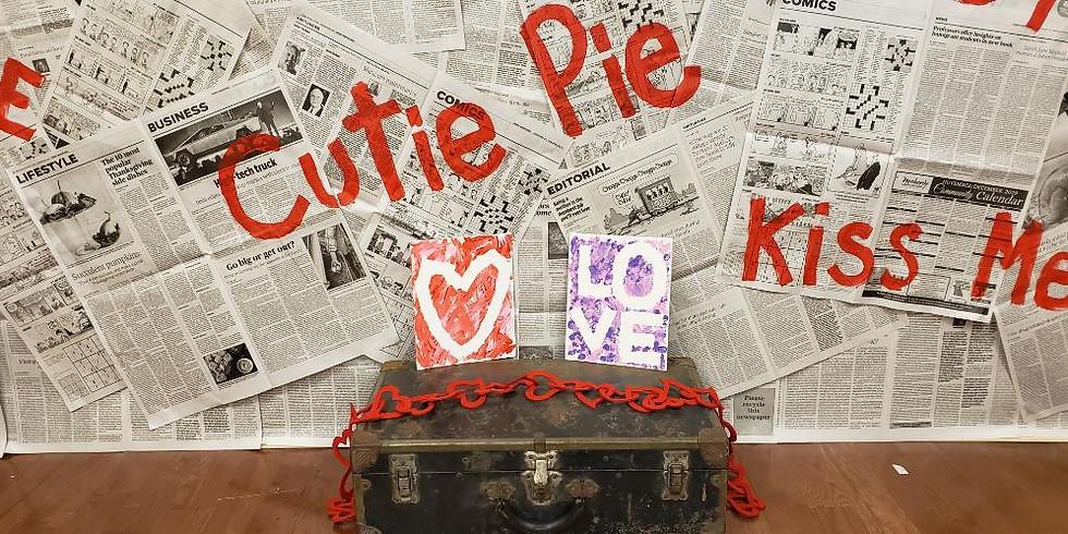 Valentine Kids Canvas Saturday January 25 @ 10 AM
