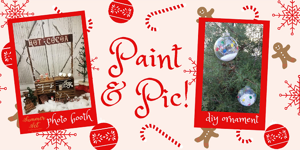 Paint and Pic for Christmas!