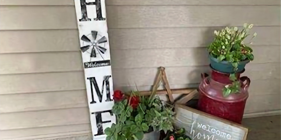 Home Sign - Friday, February 19th @ 6 PM