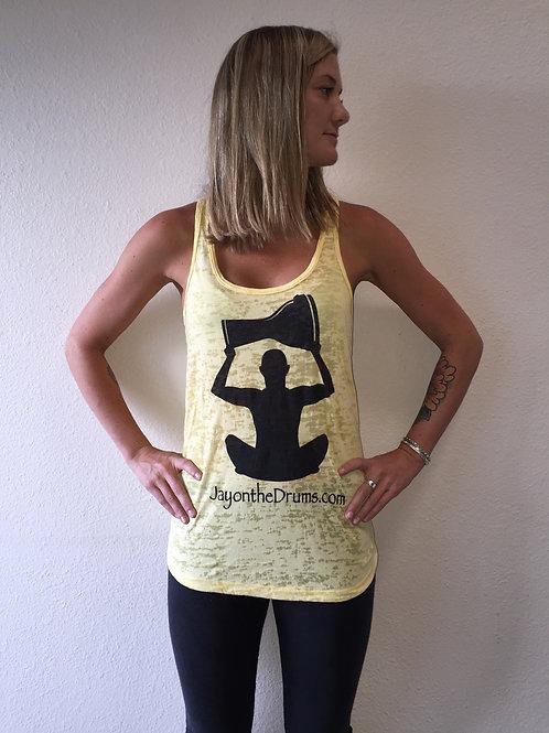 Yellow Burnout Women's Tank