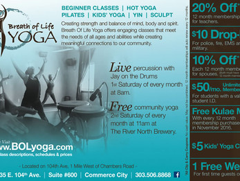 Yoga with a LIVE DRUM SOUNDTRACK every First Saturday of the month @ Breath of Life Yoga | Commerce