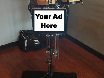Advertise with Jay on the Drums