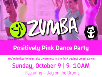 Positively Party in Pink Dance Party | Zumba with LIVE DRUMS |  Boulder, CO
