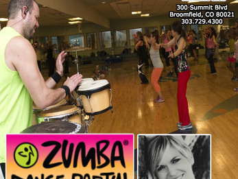 Zumba with LIVE DRUMS @ Lakeshore Athletic Club | Broomfield, CO