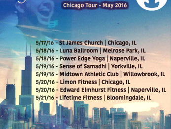 Chicago Tour - May 2016