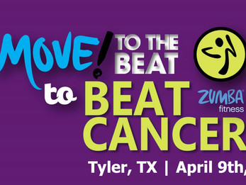 Move to the beat to BEAT Cancer Zumba event in Tyler, TX