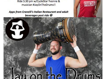 Cycle Bar Spin class with LIVE DRUMMING!!! | Lonetree, CO