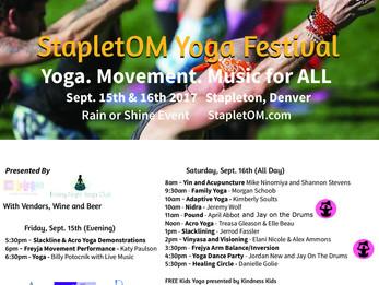 StapletOM Yoga Festival | Denver, CO