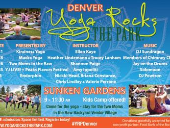 Yoga Rocks the Park 2015