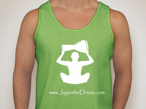 Green Unisex Workout Tank