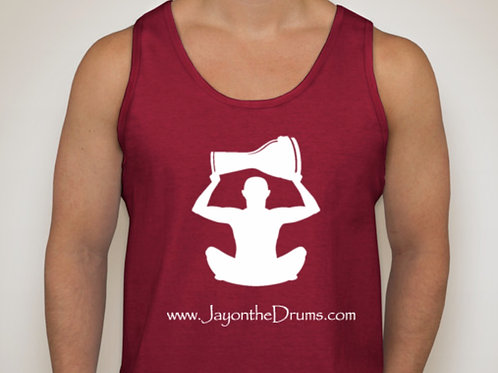 Red Unisex Workout Tank