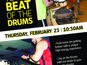 Zumba with LIVE DRUMS @ Colorado Athletic Club | Boulder, CO