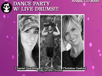 ZUMBA DANCE PARTY w/ LIVE DRUMS   Arvada, CO