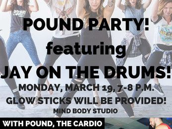 POUND Party with LIVE DRUMS!!! | Denver, CO