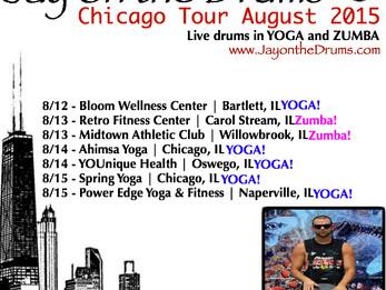 Chicago Tour - August 2015