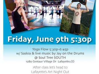 Yoga Night Out @ Soul Tree Yoga | Lafayette,CO
