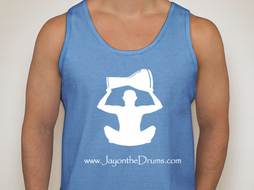 Blue Unisex Workout Tank