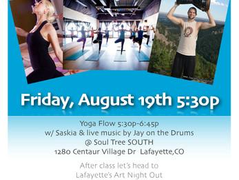 Yoga Night Out @ Soul Tree Colorado | Lafayette, CO