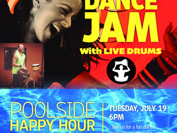 Zumba Pool Party with LIVE DRUMS @ Colorado Athletic Club | Boulder, CO