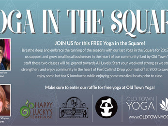 Yoga in the Square | Fort Collins, CO