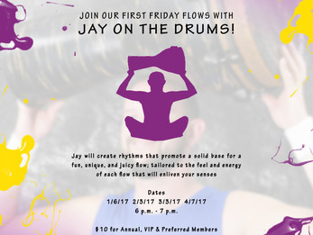 Figure Yoga 1st Friday Flows with Jay on the Drums | Louisville, CO