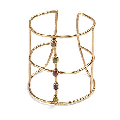 Congiunzioni bracelet with sapphires