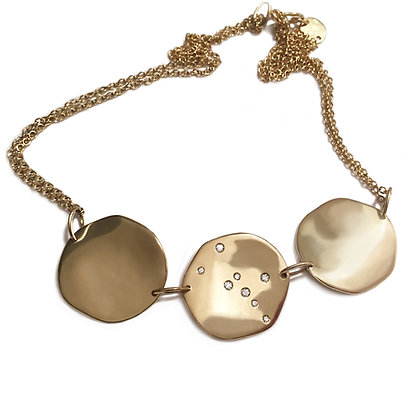 Progetto Lunare yellow gold necklace