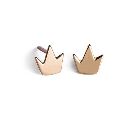 My Rock yellow gold earrings