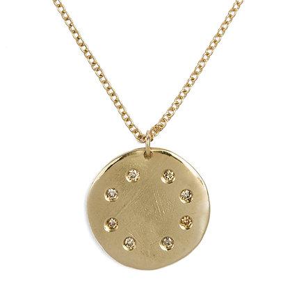 Progetto Lunare 9k gold necklace
