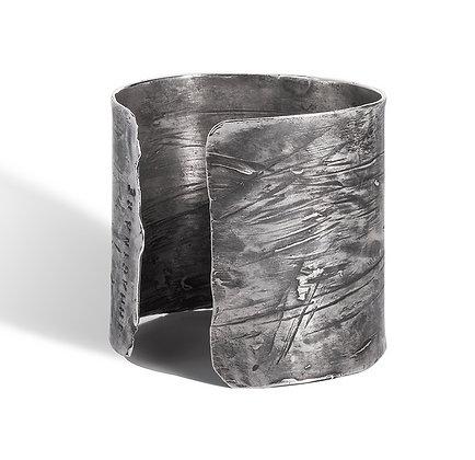 Poetry silver bracelet