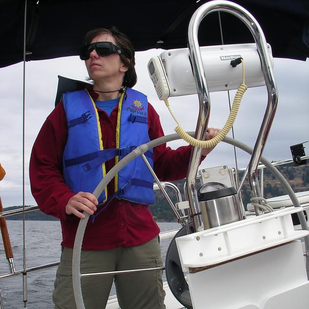 Sailing Gulf Islands 2006.JPG