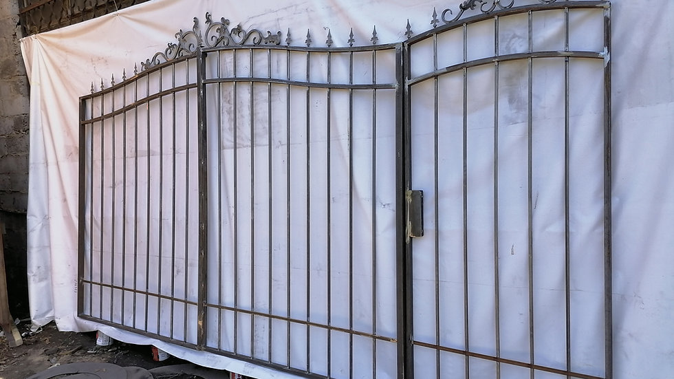 Ворота с калиткой Арт. 1-7