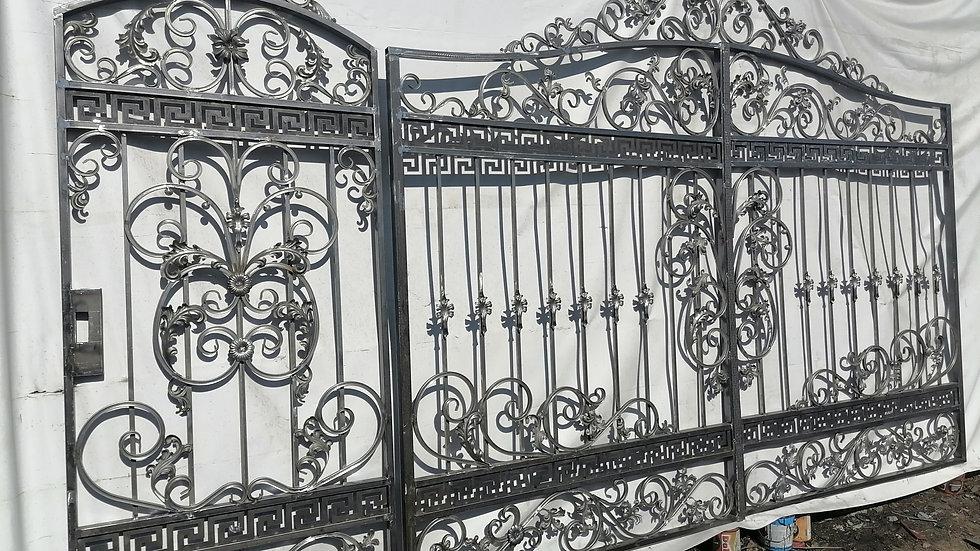Ворота с калиткой Арт. 3-2
