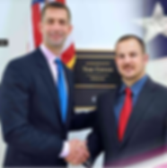 Trent Garner with U.S. Senator Tom Cotton