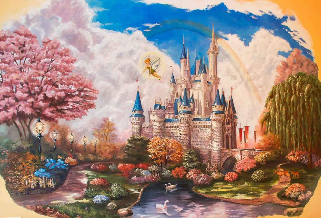 Волшебный замок дисней