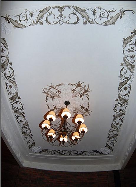 Роспись потолка Москва