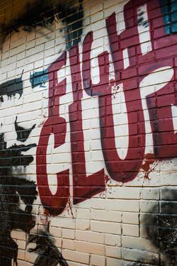 граффити бойовский клуб