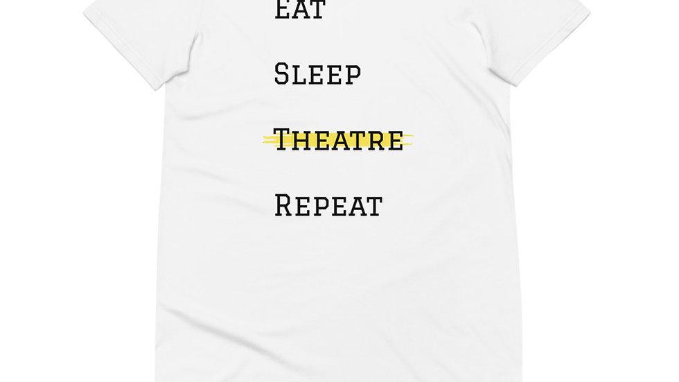 Theatre Repeat Organic cotton t-shirt dress