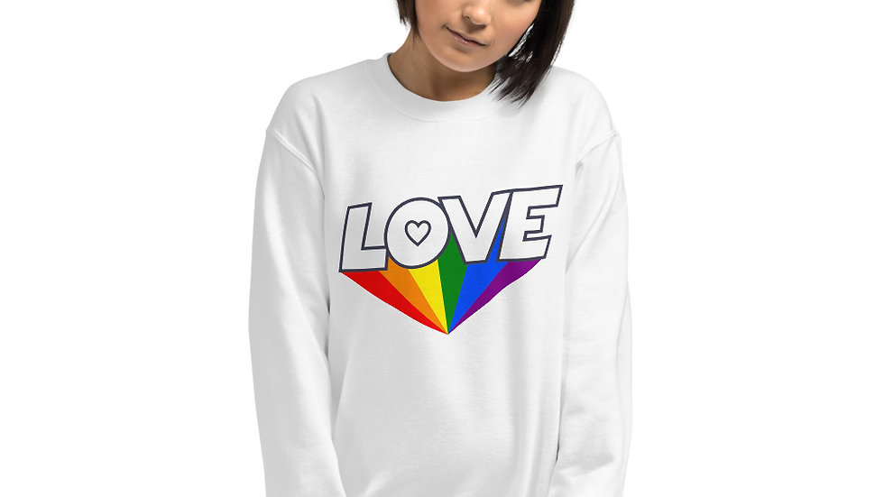 Love in Colour Unisex Sweatshirt