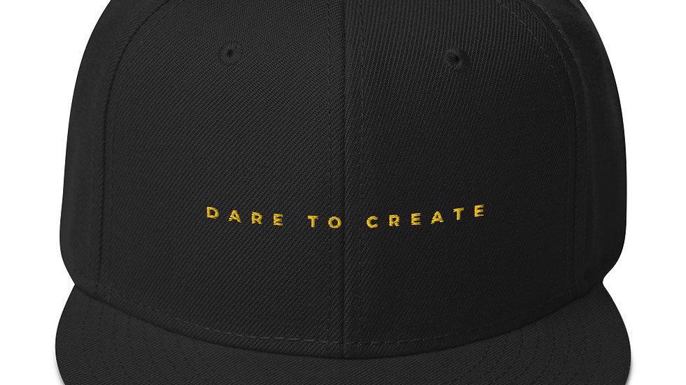 Dare to create Elegant Snapback Hat