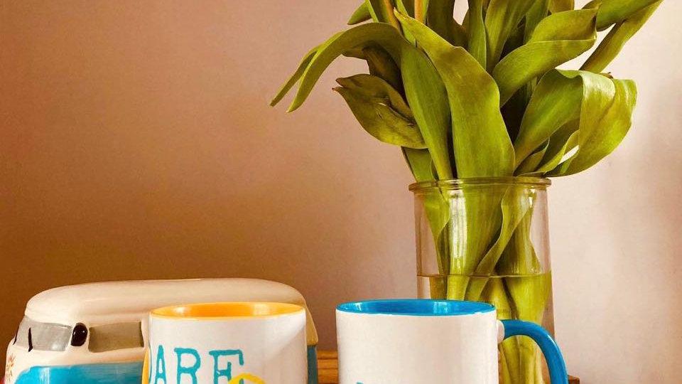 Dare 2 Create Large Print 2 Colour Mug