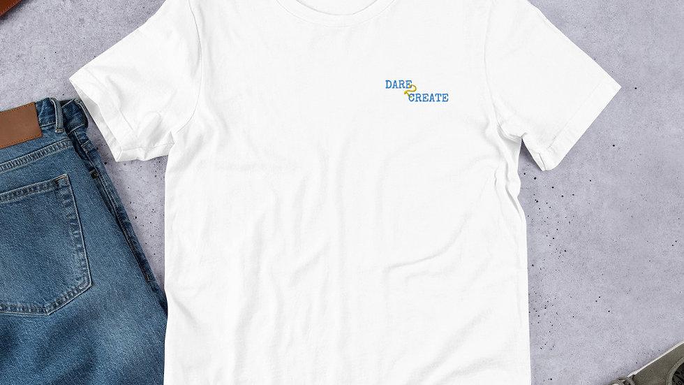 D2C Embroided Short-Sleeve Unisex T-Shirt