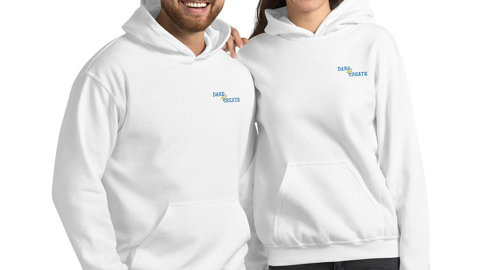D2C Embroided Unisex Hoodie