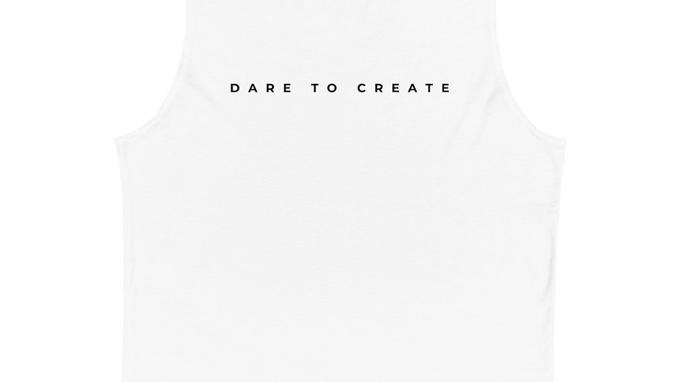 Dare to Create Elegant Muscle Shirt