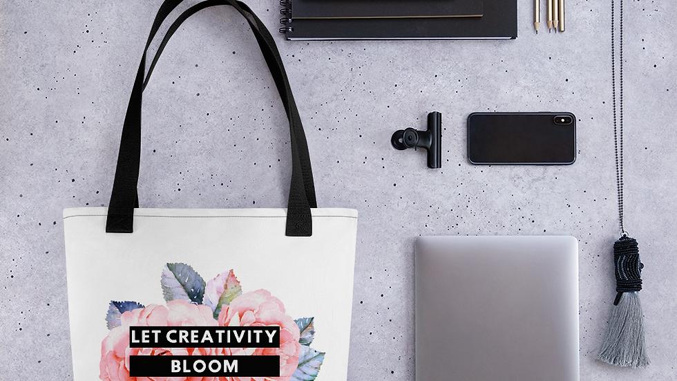 Let Creativity Bloom Tote bag