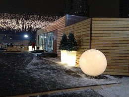 Аренда шаров с подсветкой. LED шары