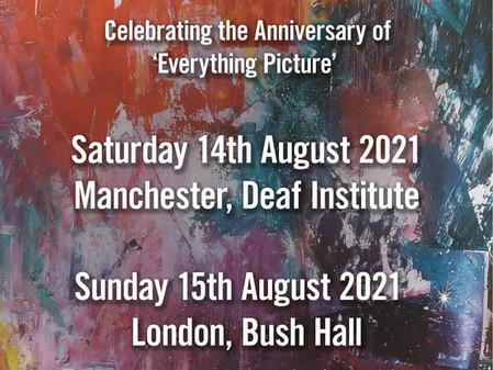 Everything Picture Tour Announcement