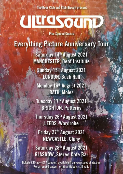 New Date Confirmed for Everything Picture Tour!