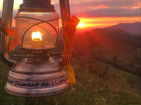 La Flama del Canigó arriba un any més a Sant Climent